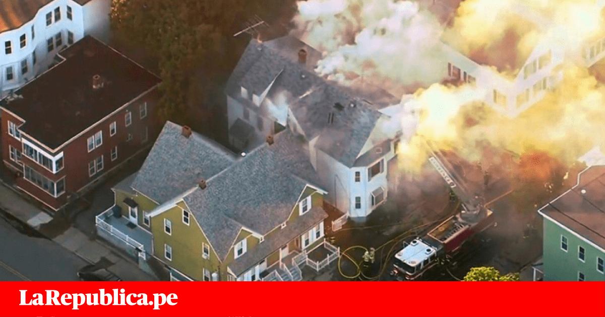YouTube: explotan 40 casas en Estados Unidos por gigantesca fuga de gas