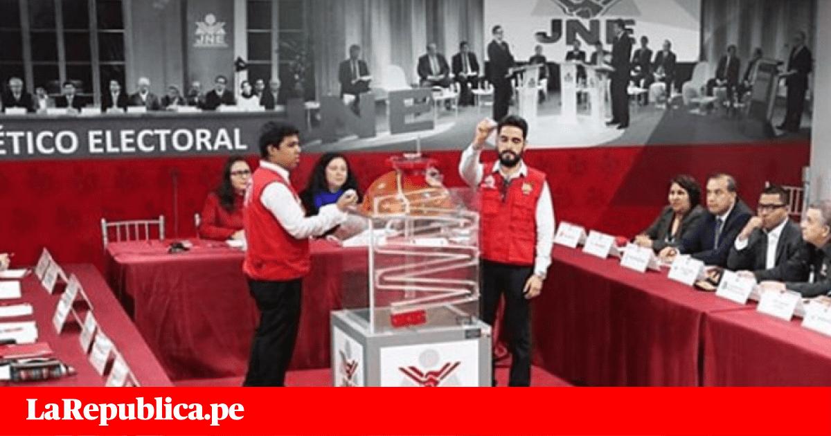 Elecciones 2018: JNE definió orden de candidatos a Lima para debates
