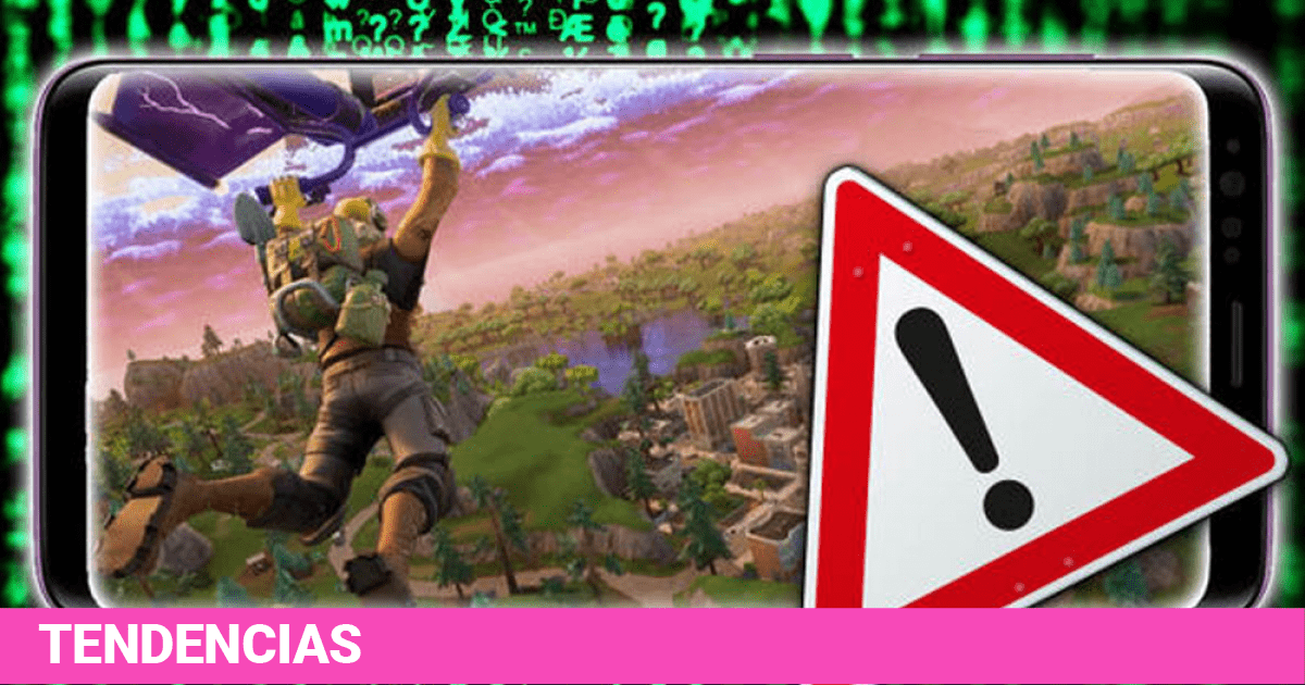Fortnite: Fake applications install virus and steal accounts and