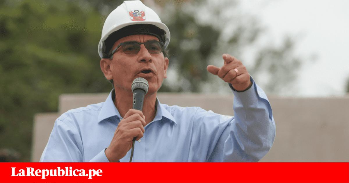 Presidente Vizcarra viajará a Piura para inaugurar obra vial