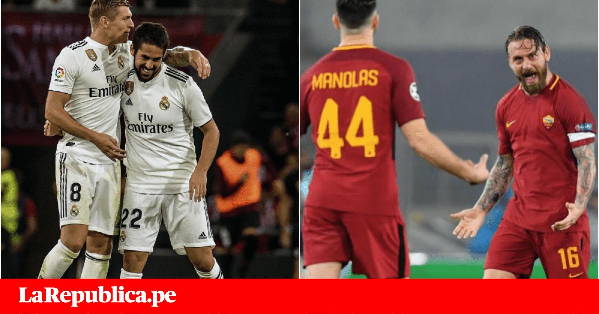 Real Madrid vs Roma EN VIVO vía Facebook: cómo ver este duelo de Champions League