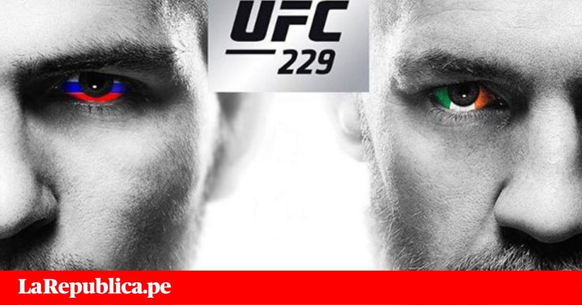 McGregor vs Khabib EN VIVO ONLINE: por el título de peso ligero UFC