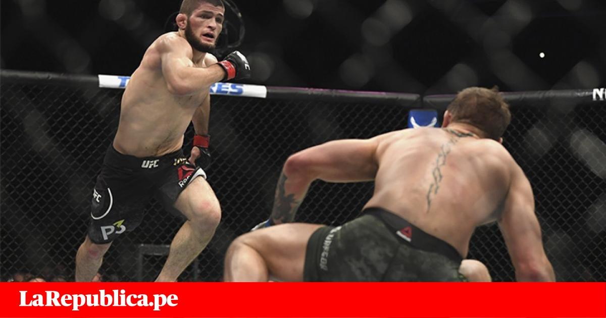 Las duras sanciones que afrontará Khabib Nurmagomedov tras los incidentes en UFC 229