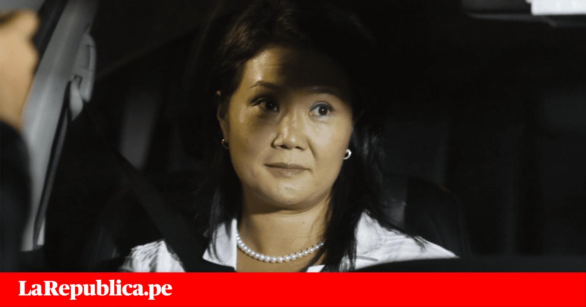 Keiko Fujimori se pronuncia luego de ser detenida