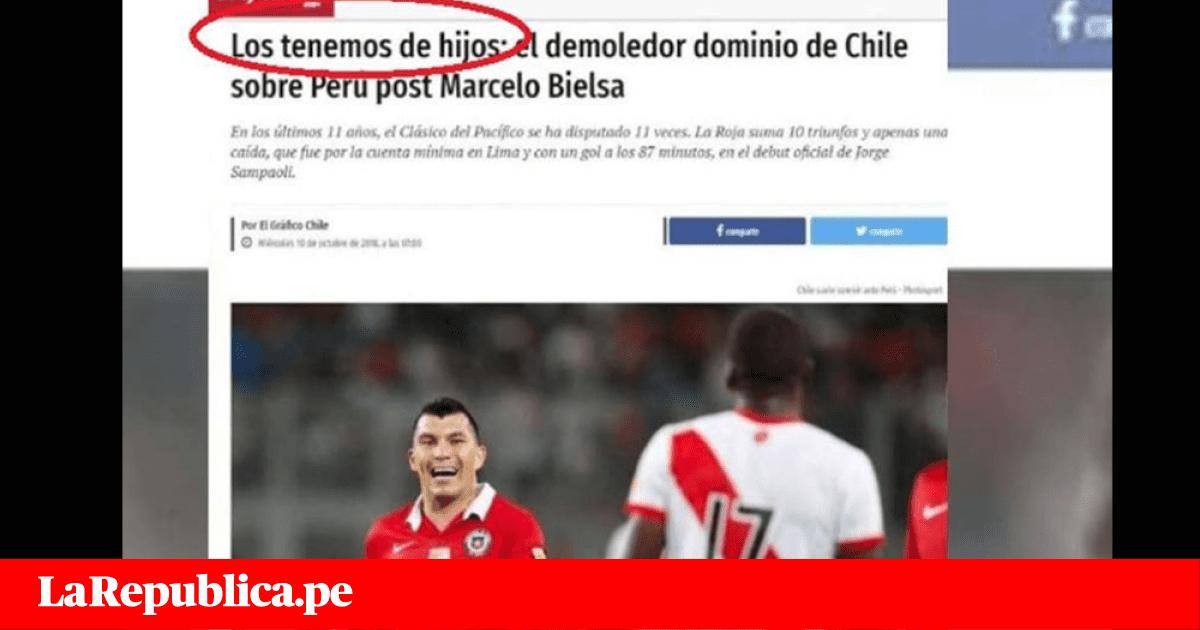 Perú vs Chile: Prensa chilena 'calienta' la previa con polémicos titulares