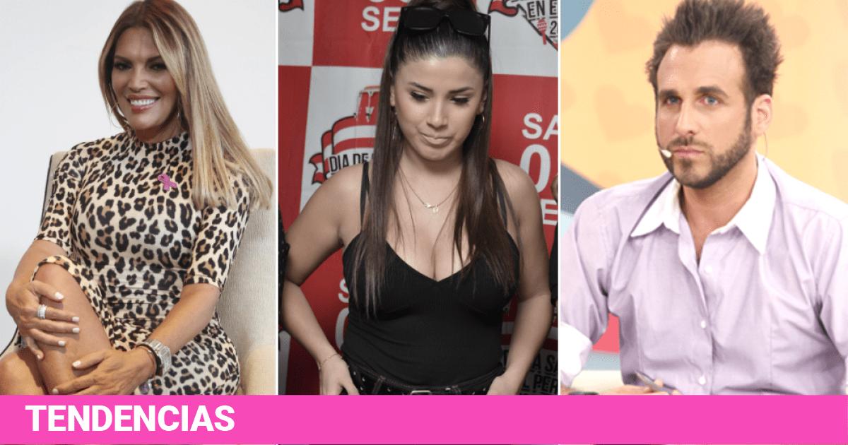 Jessica Newton enfrenta a 'Peluchín' por querer a Yahaira en el Miss Perú