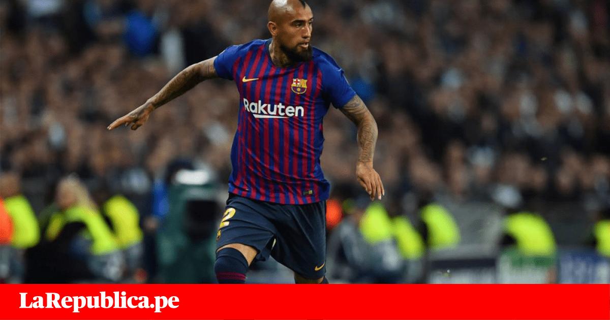 Mánager de Barcelona lanza dura advertencia contra Arturo Vidal