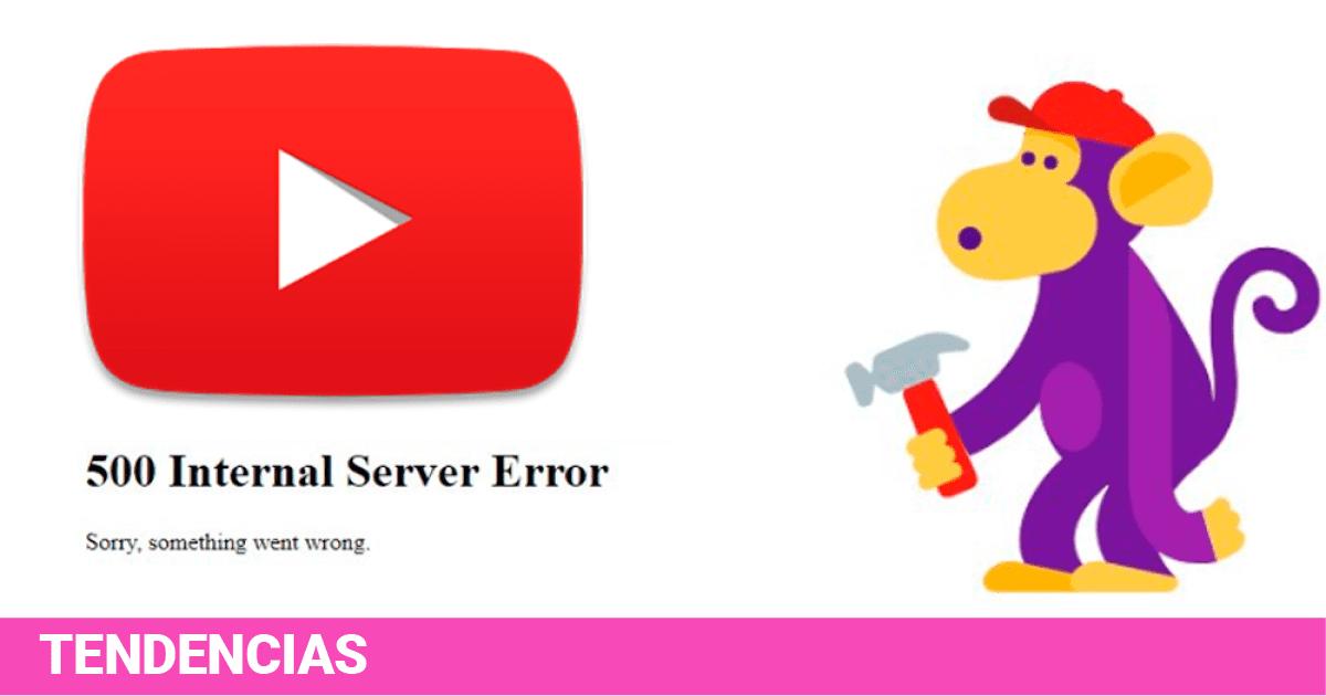 Resultado de imagen para youtube caida