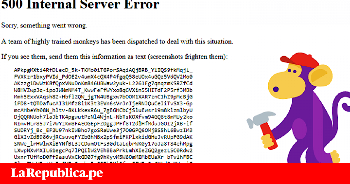 Youtube Error 503: ¿Qué es el 500 internal error?