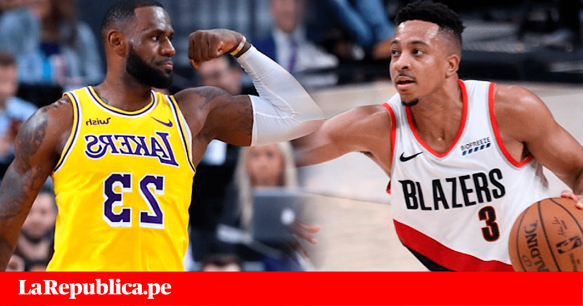 Los Angeles Lakers vs Trail Blazers EN VIVO: debut de LebBron James por la NBA
