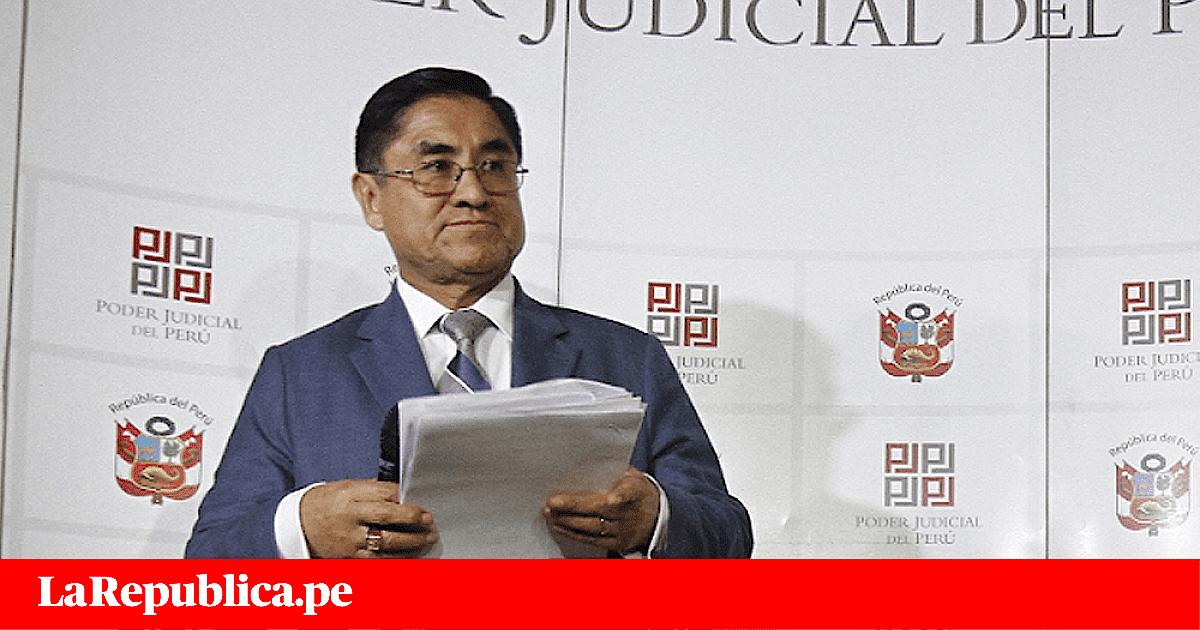 César Hinostroza: se reinicia audiencia de pedido de prisión preventiva