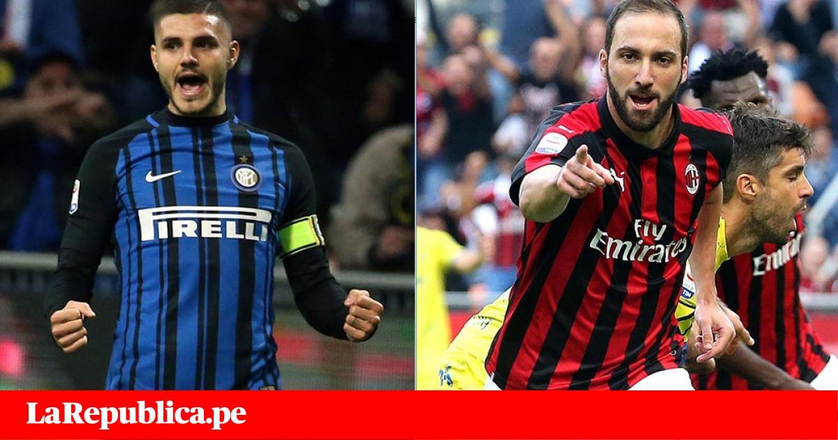 Inter vs Milan EN VIVO ONLINE: Higuaín e Icardi protagonistas del Derby della Madonnina