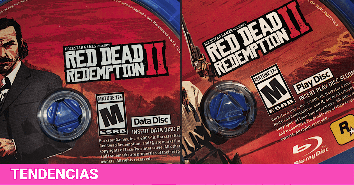 Red Dead Redemption 2 comes on two discs | Photos | Rockstar