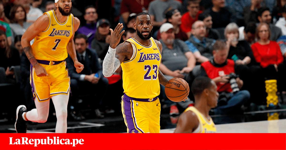 Lakers vs Spurs VER EN VIVO  con LeBron James en partidazo por la NBA 55cb0cb26303