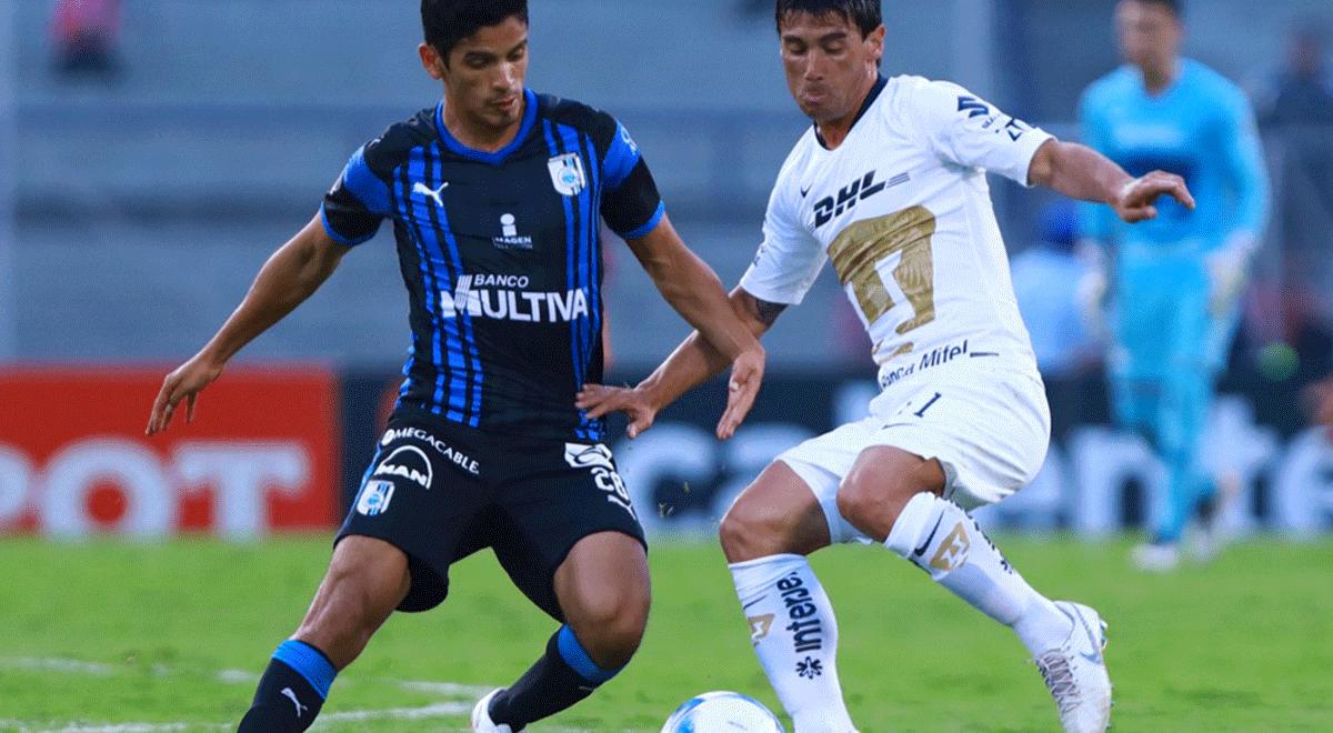 1f7d0f9bb Pumas perdió 0-1 frente a Querétaro por el Apertura de la Liga MX | RESUMEN  | RESULTADO | GOL | Deportes | LaRepublica.pe