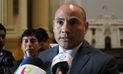 Luis Iberico: Fujimorismo respalda reunión de presidente del Congreso con Pedro Cateriano