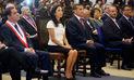 Ollanta Humala participó por primera vez de ceremonia de la Iglesia Evangélica