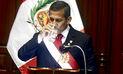 Último mensaje presidencial de Humala tuvo frases falsas y cifras engañosas