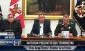 Ministerio de Defensa anuncia captura de dos mandos de Sendero Luminoso en Cusco | VIDEO