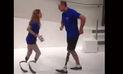 Facebook: pareja perdió las piernas, pero nunca la pasión por el baile