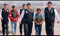 Terroristas 'Renán' y 'Yuri' fueron trasladados a Lima