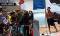 Ciclistas protestaron en Costa Verde tras muerte de compañero  VIDEO