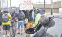 Ciclistas protestan por los continuos accidentes viales en la Costa Verde