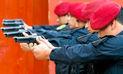 Policías podrán usar sus armas en caso de peligro de muerte o lesiones graves