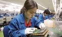 Advierten una fuerte desaceleración  en la industria manufacturera de China