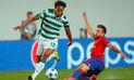 André Carrillo: Sporting Lisboa cayó 3-1 ante el CSKA Moscú y quedó eliminado de la Champions League   VIDEO