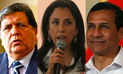Encuesta del Poder 2015: Alan García muy cerca a Ollanta Humala y Nadine Heredia