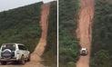 Facebook: camioneta supera una peligrosa pendiente en China
