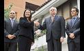Cateriano y Keiko Fujimori hablaron sobre seguridad, economía y terrorismo