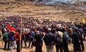 Tres muertos y más de 15 heridos deja desborde en paro contra Las Bambas