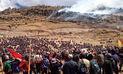 Declaran estado de emergencia en Apurímac por proyecto Las Bambas