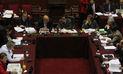 Predictamen sobre financiamiento de partidos se debatirá mañana en el Pleno