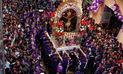 Señor de los Milagros: Imagen recorre la avenida Grau en Cercado de Lima | VIDEO