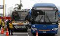 Municipio de Lima continúa retiro de buses en la ruta del corredor Javier Prado