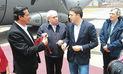 Ministro italiano visitó Machupicchu acompañado de premier Pedro Cateriano