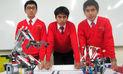Escolares peruanos presentes en la Olimpiada Mundial de Robótica en Qatar