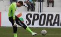 Perú vs. Paraguay: Diego Penny cometió un 'blooper' durante su saque | VIDEO