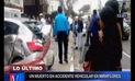 Miraflores: Hombre muere en cuádruple choque que habría ocasionado conductor ebrio | VIDEO