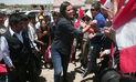 Gobernadora de Arequipa pide respaldo de población para obras