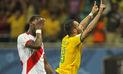 Perú perdió 3-0 ante Brasil y quedó penúltimo en las Eliminatorias Rusia 2018   VIDEO