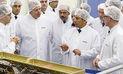 Humala y Hollande resaltan avances en construcción del primer satélite peruano