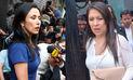 Nadine Heredia critica incorporación de Yeni Vilcatoma a equipo de Keiko Fujimori