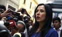 "Nadine Heredia a Alan García: ""Liberar a miles de narcos no es rumor maligno"""