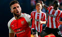 Arsenal cayó 4-0 ante Southampton en cierre del Boxin Day en Premier League