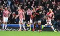 Manchester United perdió 2-0 ante Stoke City en Boxing Day en Premier League   VIDEO