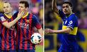 YouTube: Riquelme explica la diferencia entre Messi e Iniesta con una metáfora